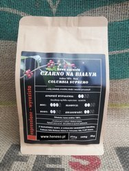 Kawa Dolla mielona - Czarno na Białym BLEND ARABICA 100%