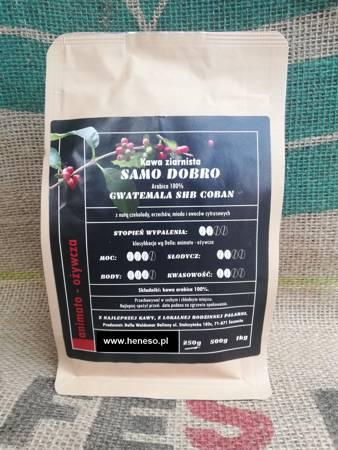Kawa Dolla mielona - Samo Dobro  GWATEMALA SHB