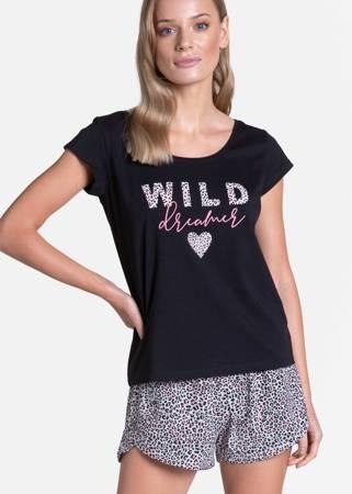 Piżama damska Henderson Tiger czarna