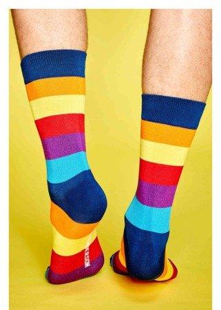 Skarpety kolorowe męskie Henderson w paski